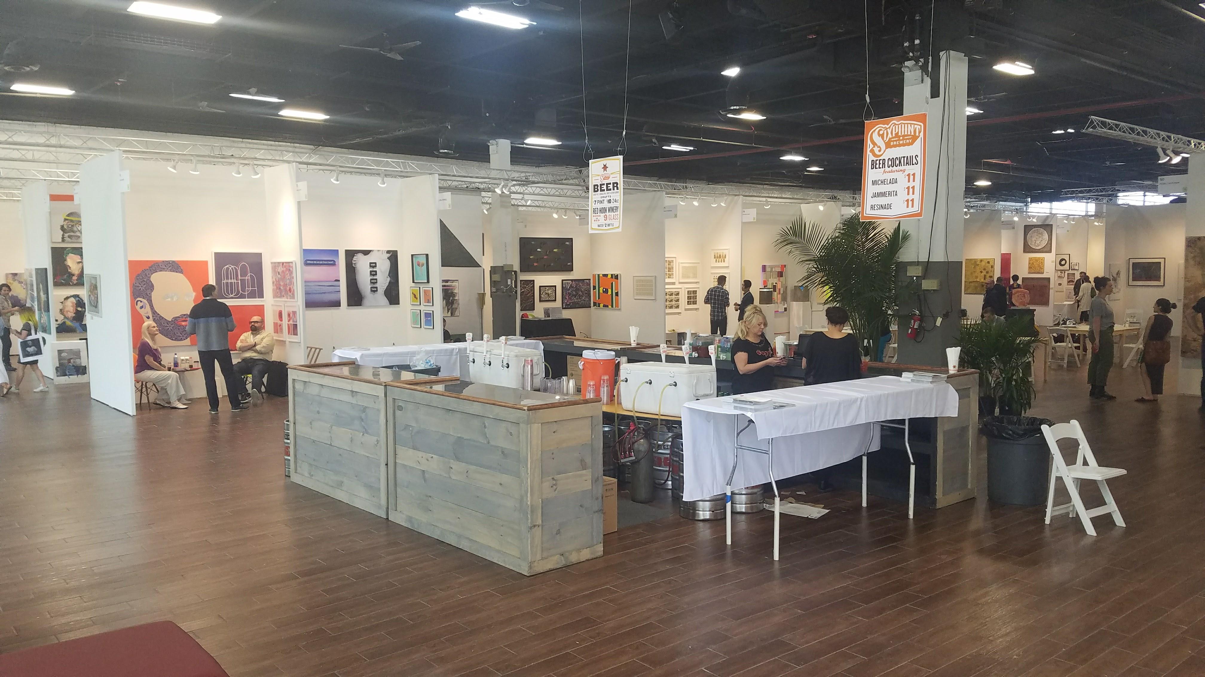 The Other Art Fair 2 Brooklyn Expo Center